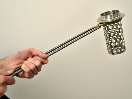Forged Steel Tongs for Perforated Flask