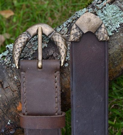 SQUAMATA, leather belt