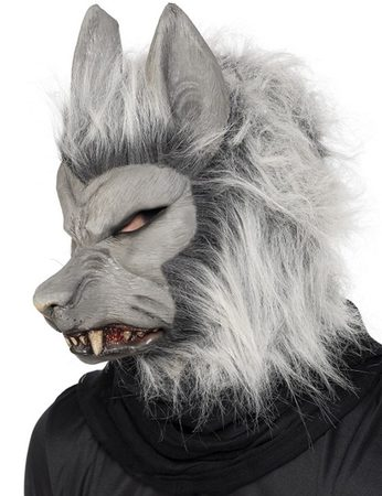 WEREWOLF MASK, COSTUME RENTAL
