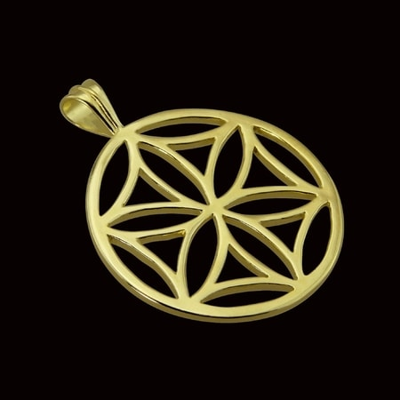 SVARGA, Slavic Amulet, 14K gold, 6 5 g - wulflund com