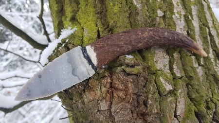 SKARA, flint knife - replica