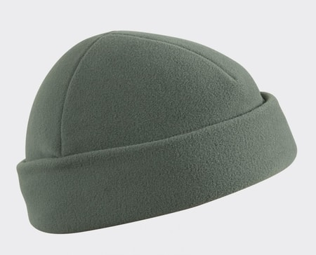 Military Cap, fleece, green