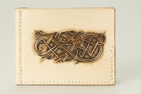 VIKING STYLE LEATHER WALLET