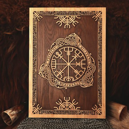 VEGVÍSIR WALL DECORATION PLAQUETTE