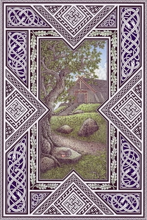 Viking House, pagan poster