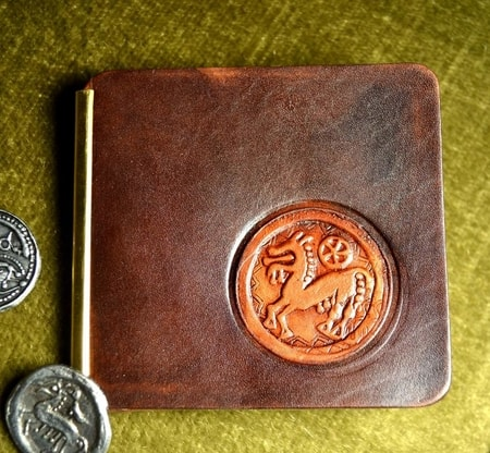 CELTIC HORSE, leather wallet