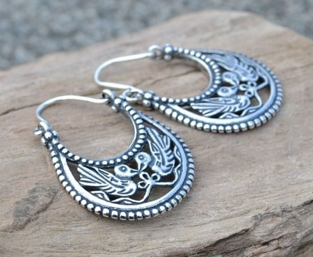 BYZANTINE EARRINGS Viking Rus
