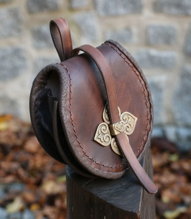Viking Birka Leather Bag
