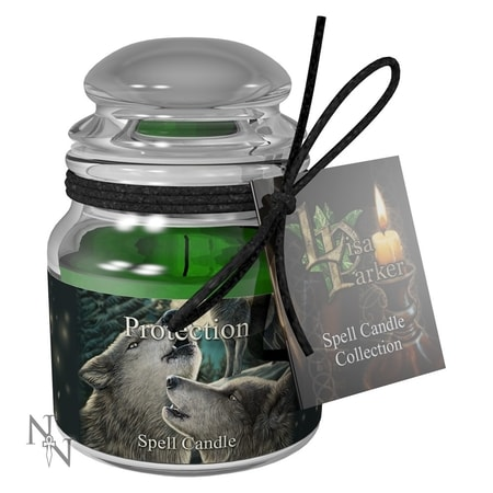 Protection Spell Candle - Lavender - wulflund com