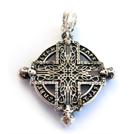NORSE WARRIOR CROSS, viking pendant