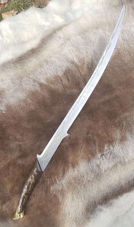 Elvish sword, decorative replica