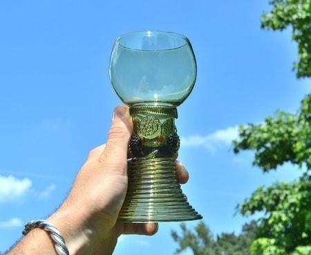 Viking And Medieval Glass Replica Hand Made Czech Wulflund Com