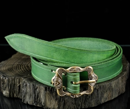 GREEN HISTORICAL BELT