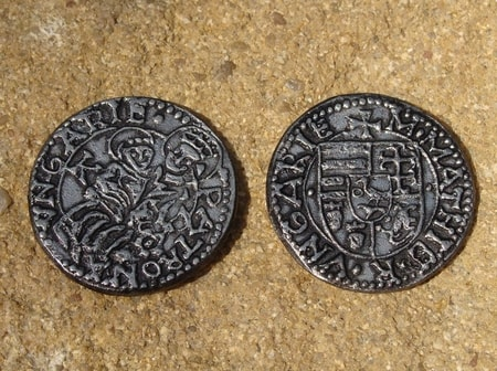 Matthias Corvinus, 1458 - 1490, replica of a coin