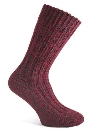 MÓIN, WOOLEN SOCKS, DONEGAL, IRELAND