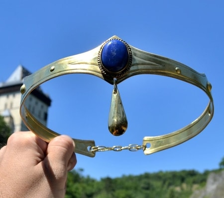 NORICA - CROWN with Lapis Lazuli