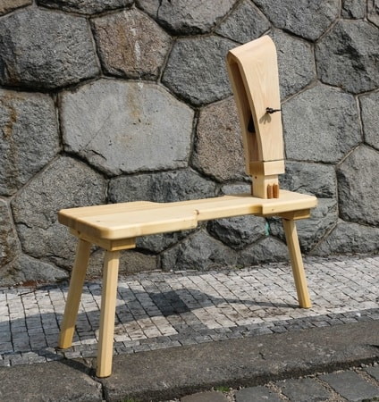 Stitching Horse Bench