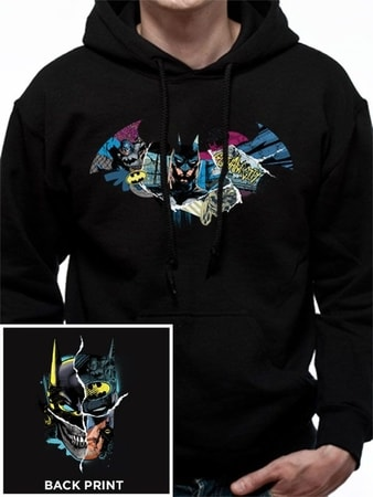 Batman - Gotham Face Hooded Sweatshirt