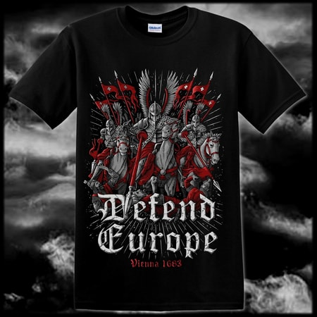 DEFEND EUROPE, Vienna 1683, T-shirt