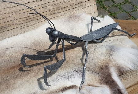 MANTIS, forged statuette