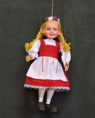 Girl Marionette Puppet Wulflund Com