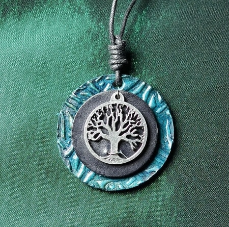 ARBOR VITAE, tree of life, leather collection