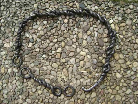 FORGED IRON AGE STYLE BELT