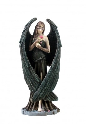 ANGEL ROSE, statue
