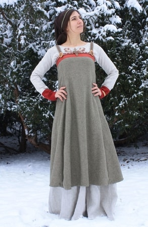 Viking Apron Dress, Birka