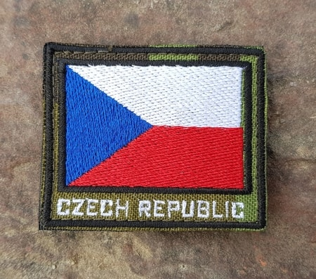 Czech Flag Camo, Velcro Patch