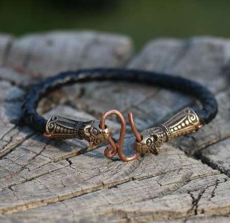 BORRE, Viking Bracelet, bronze