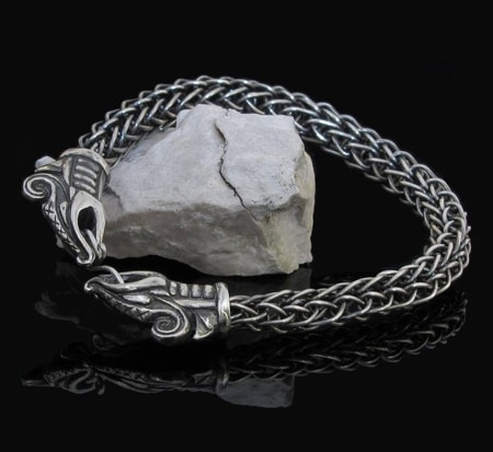 Dreki Viking Dragon Bracelet