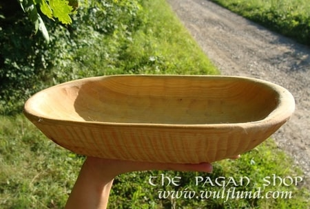 LONG WOODEN BOWL