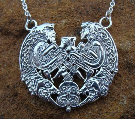 HARMONY of SOULS, silver necklace