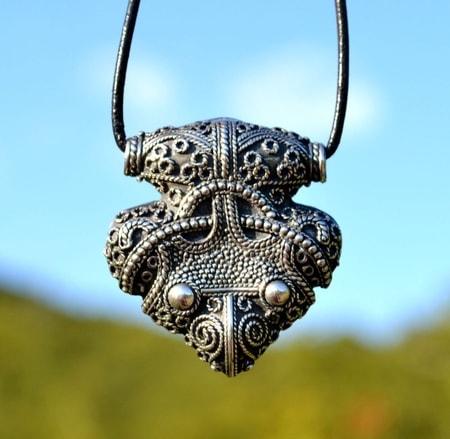 Viking, Medieval Jewelry | Museum Replicas Filigree Granulated