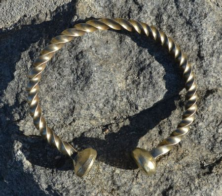 CELTIC BRACELET, brass