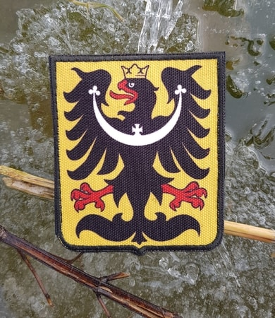 SILESIA - coat of arms, Velcro Patch