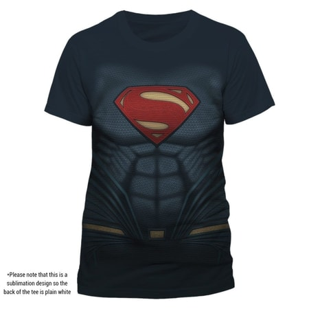Superman - Sublimated Costume