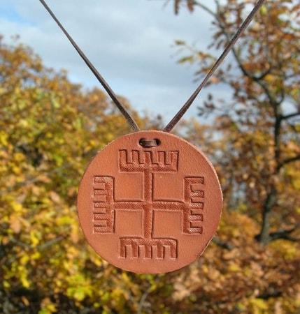 RECE BOGA - Slavic Amulet - Slavic Mythology - wulflund com