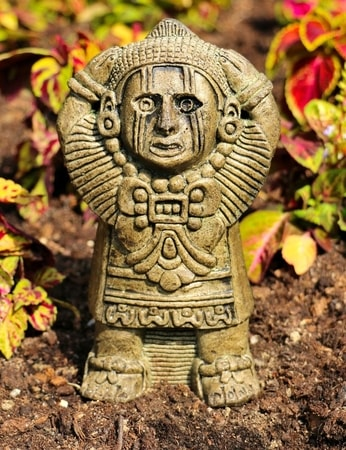 Aztec Calendar Amulet On The Neck Talisman Wulflund Com