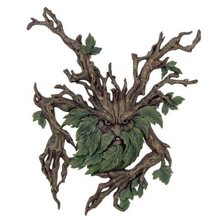 TREE SPIRIT, wall plaque