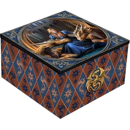 FIERCE LOYALTY MIRROR BOX, ANNE STOKES