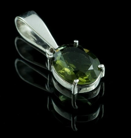 Moldavite Jewels Silver Wholesale