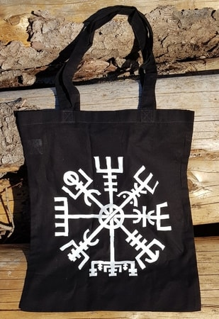 Vegvísir, cloth bag