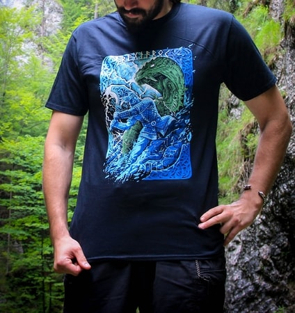 RAGNARÖK, Viking T-Shirt, colored