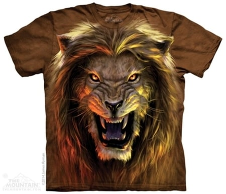 Lion Warrior The Mountain T Shirt Wulflund Com