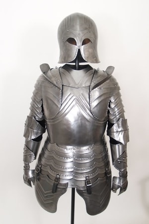 Suit of Armor, decorative with stander