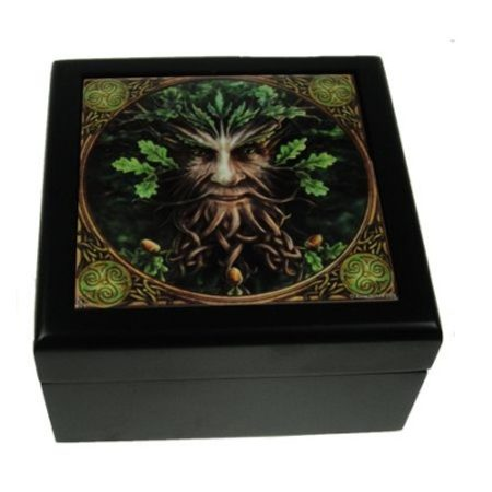 OAK KING, tile box
