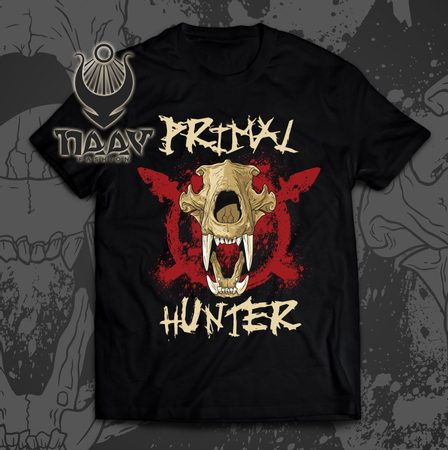 PRIMAL HUNTER MEN'S T-SHIRT NAAV