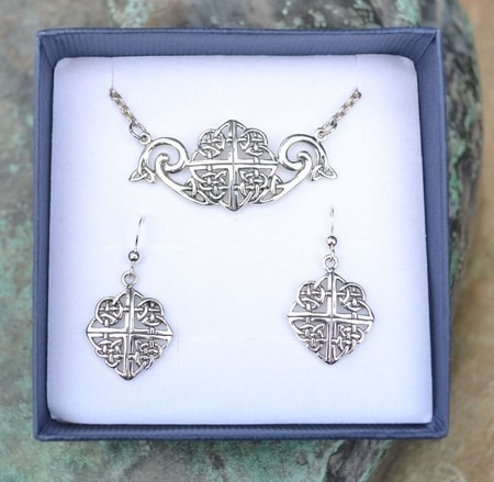 ELYSSA, silver jewelry set, Ag 925